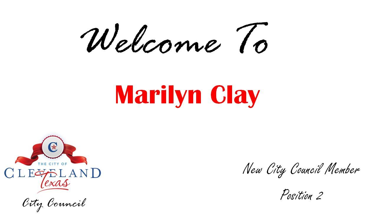 welcome marilyn clay