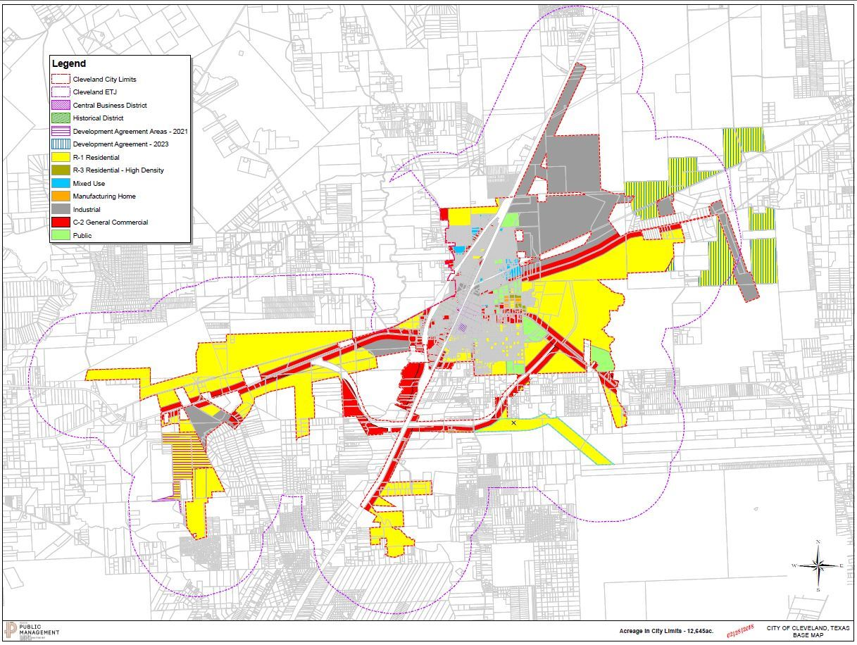 Annexations | Cleveland, TX - Official Website