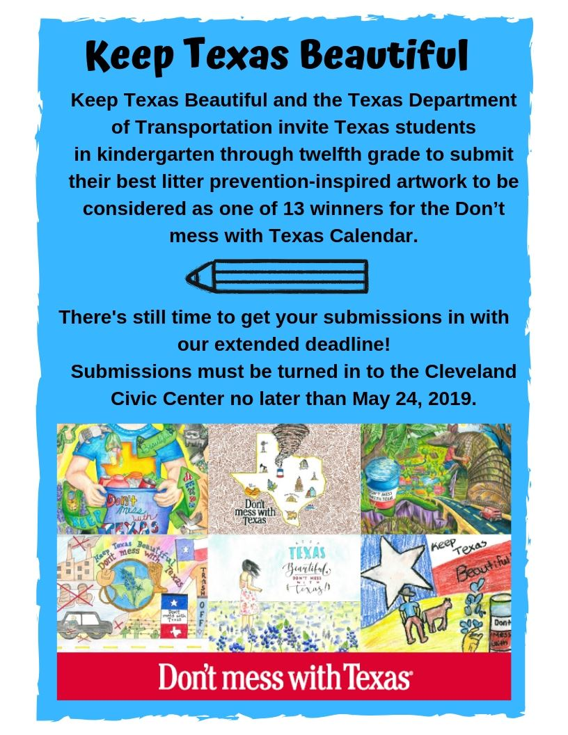 Keep Texas Beautiful 5-24-19