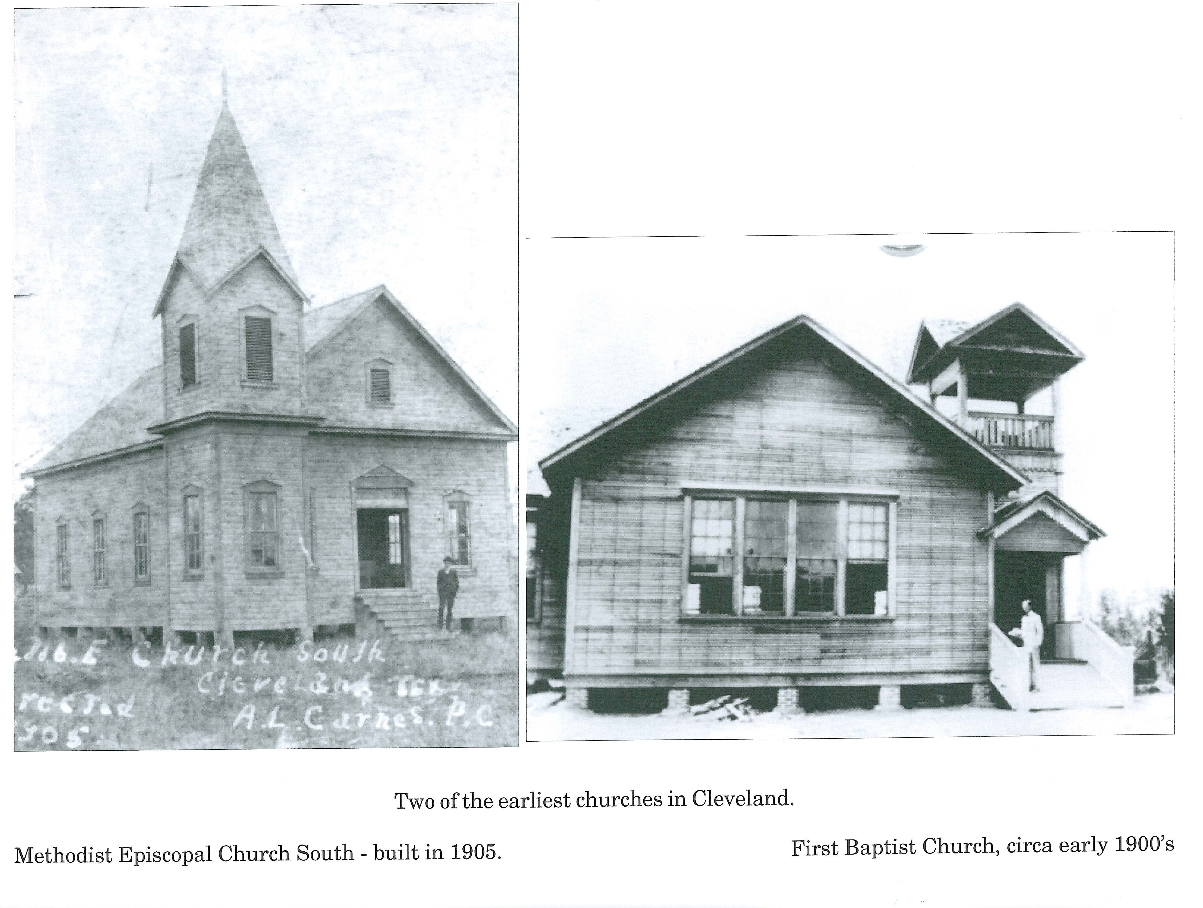 Methodist Episcopal Church South and First Baptist Church