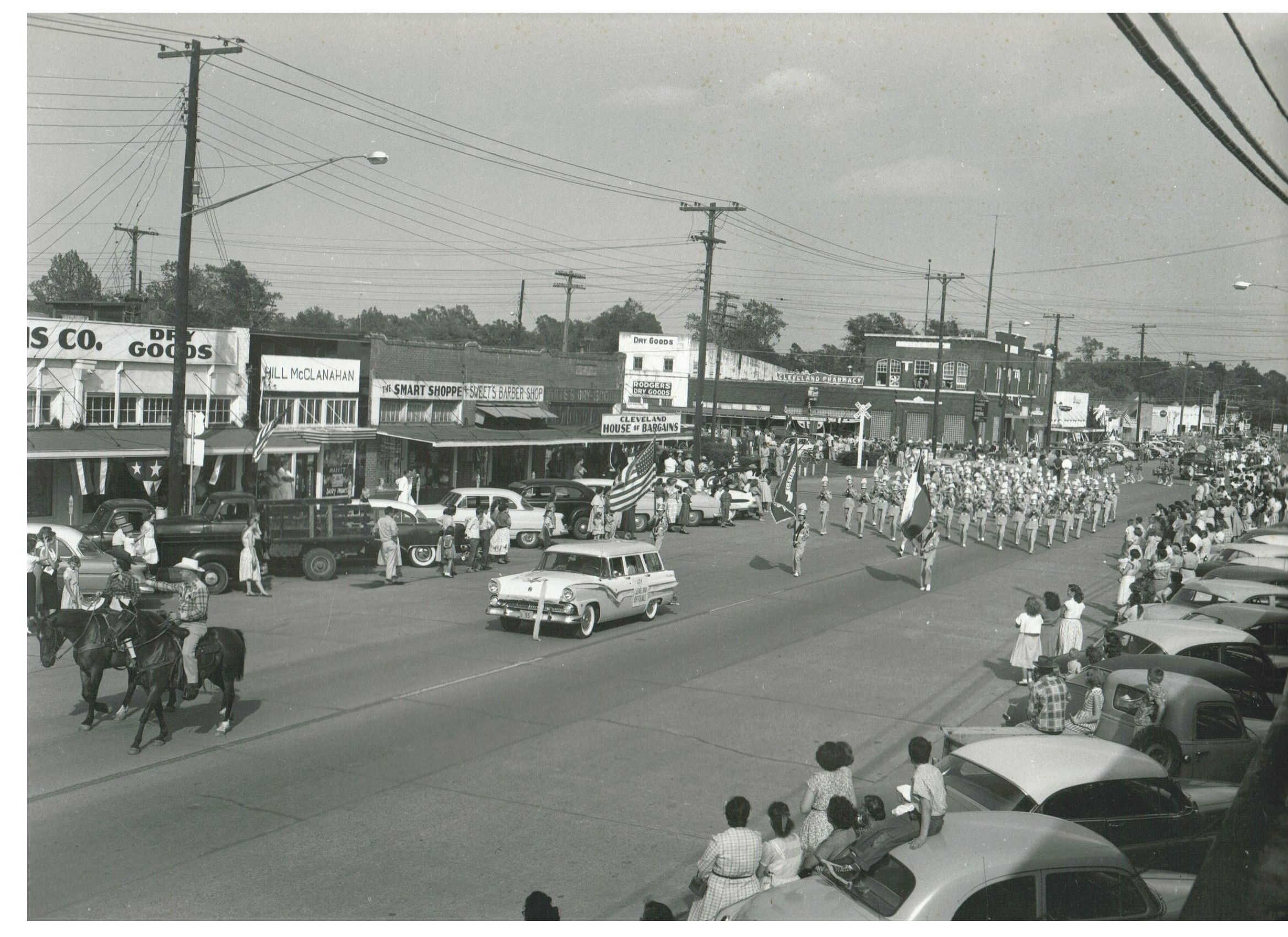 Cars in Parade