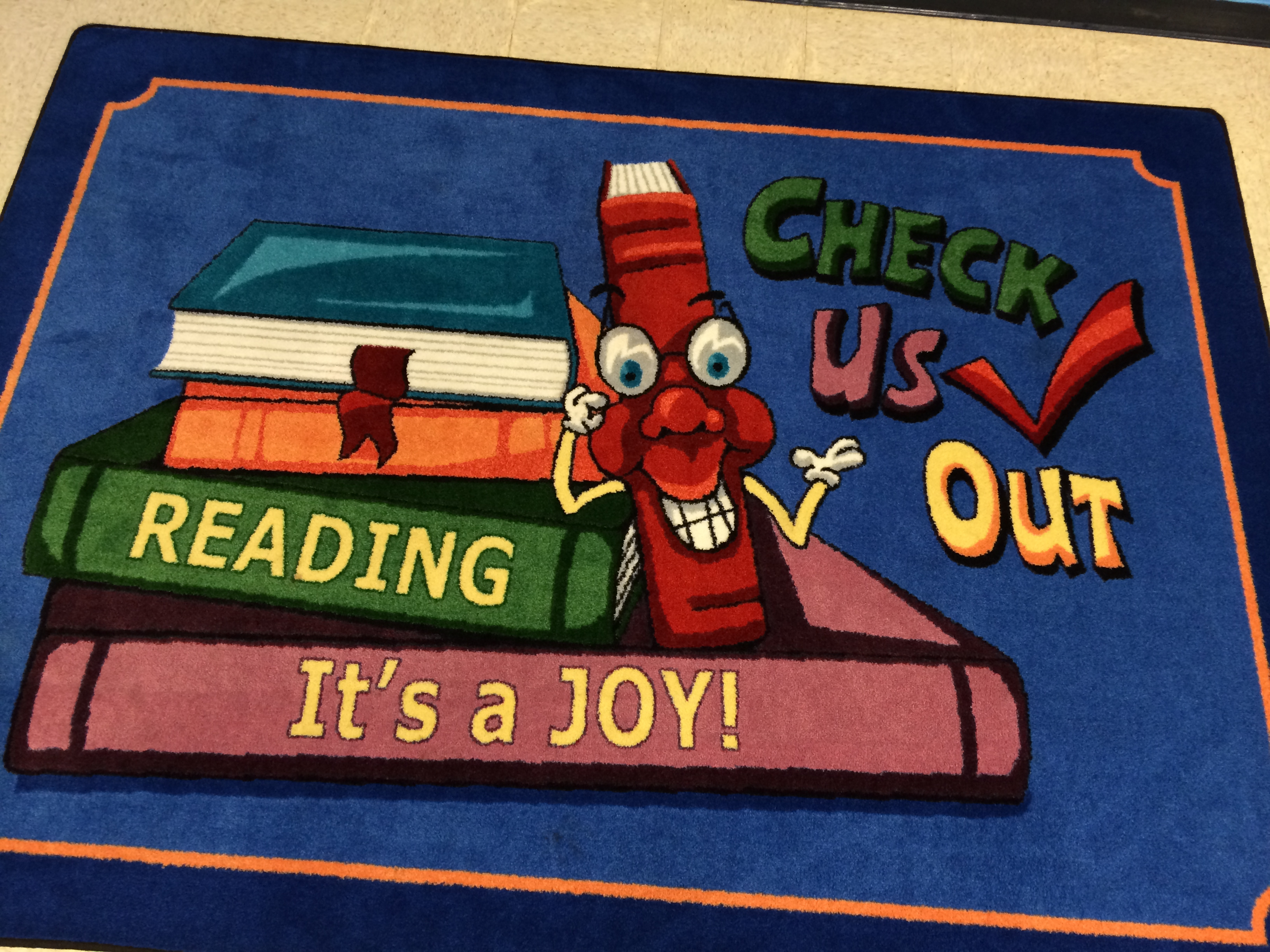 Reading It's a Joy Floormat