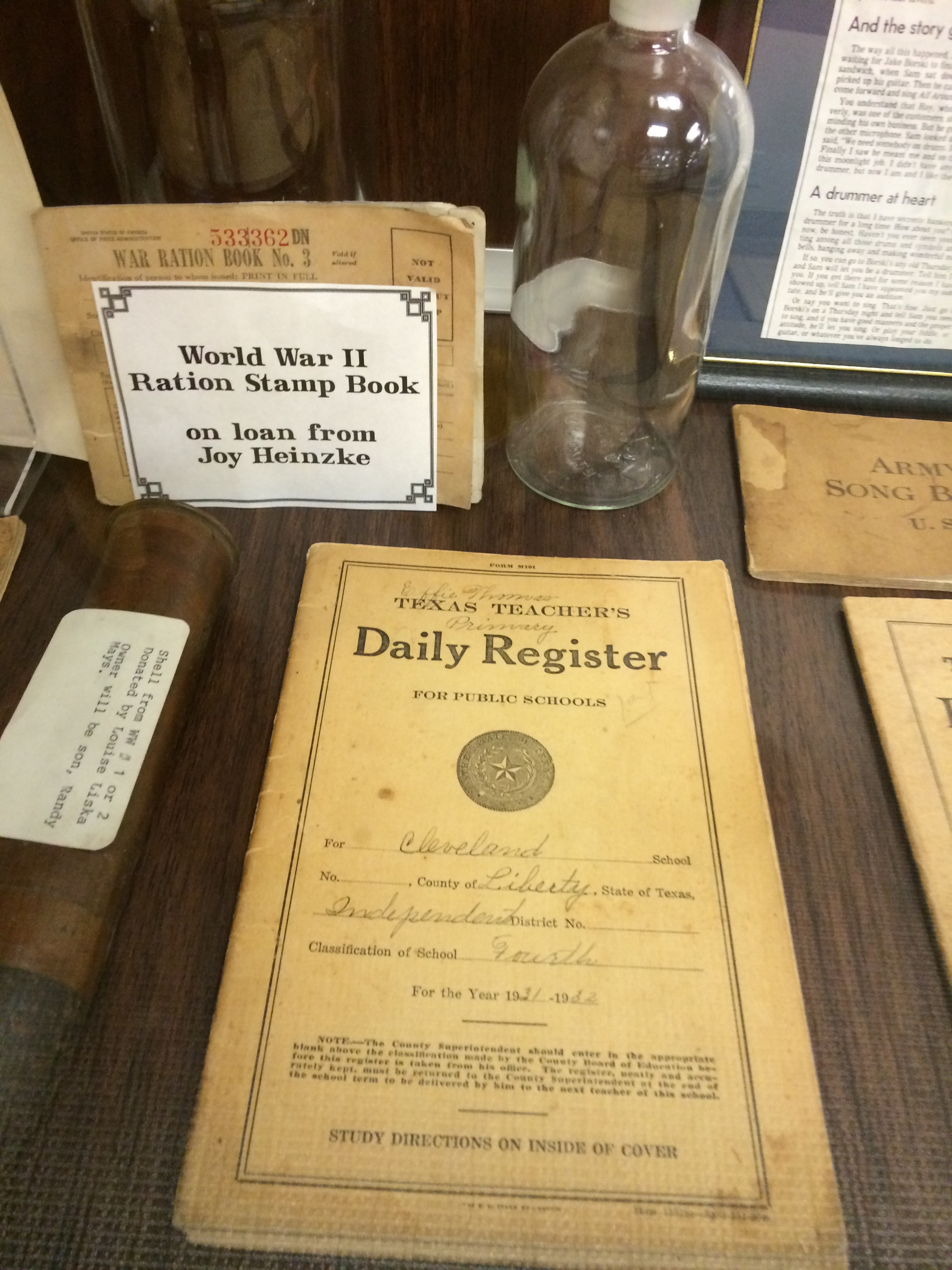 Daily Register on Display