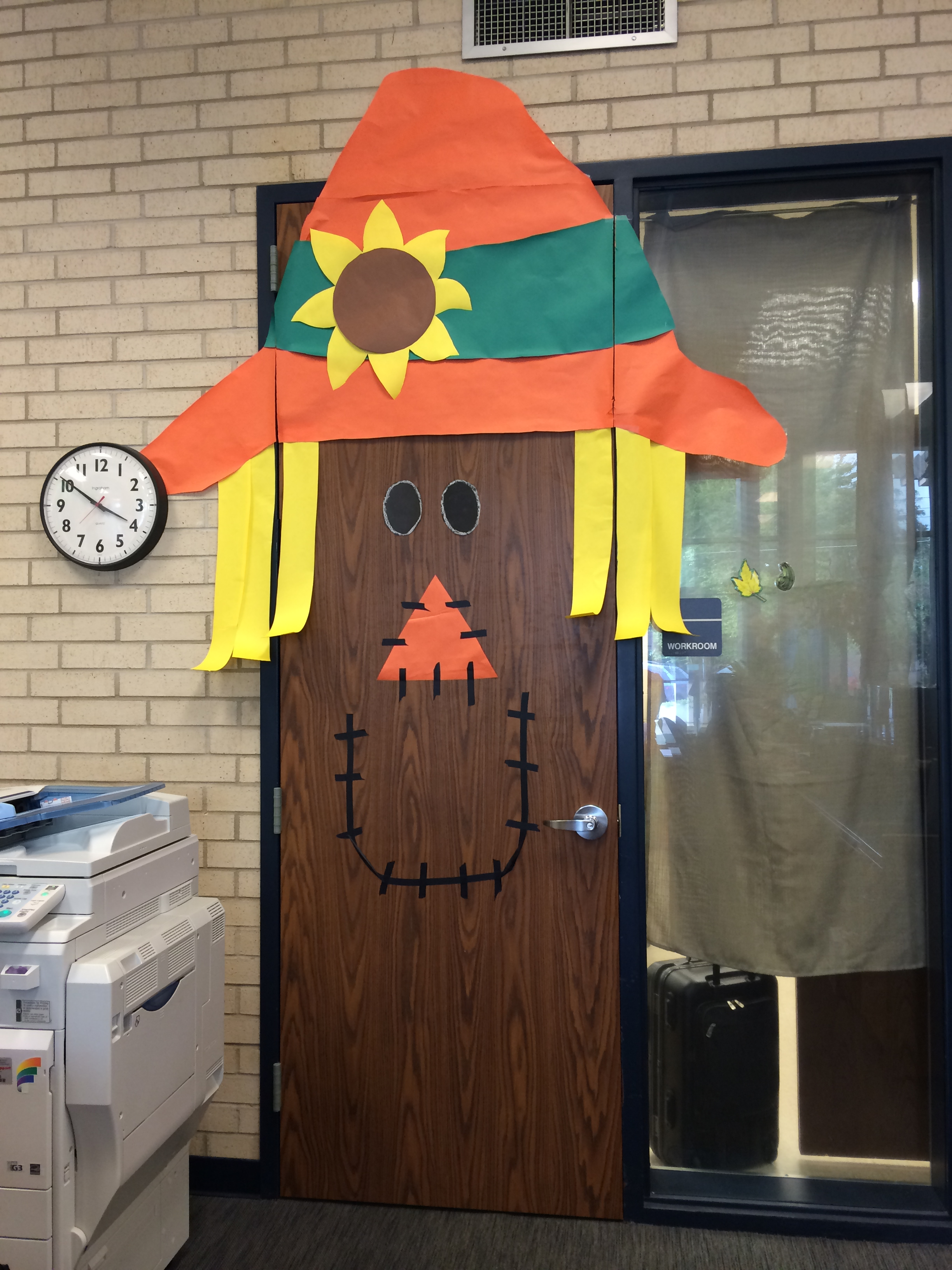 Scarecrow Door Decorations